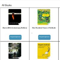 book club app screenshot