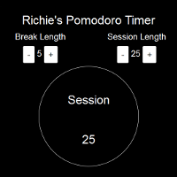 pomodoro time screenshot