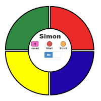 simon project screenshot