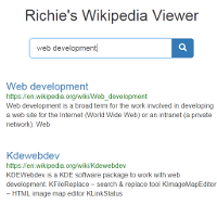 wikipedia viewer screenshot